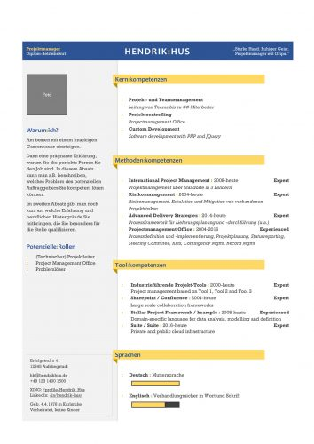 Beispielprofil | Website · Profil · Marktpräsenz für Selbständige | Pro-File.ONE